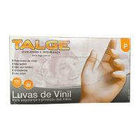 *LUVA DE PROC VINIL C/ PO TAM P C/100 TALGE
