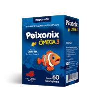 PEIXONIX OMEGA 3 MASTIGAVEL SABOR CEREJA - 60 CAPS MAXINUTRI