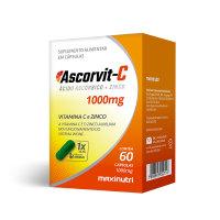 ASCORVIT-C E ZINCO 60CPAS 10000G