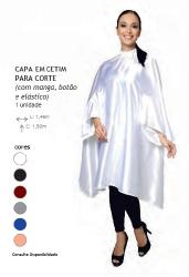 CAPA CETIM ROYAL C/ MANGA BOTAO E ELASTICO