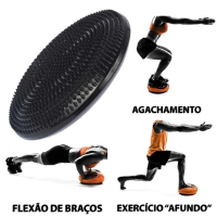 DISCO INFLAVEL - 33CM - PRETO