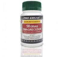 EMAGRECEDOR 50 ERVAS CAPSULAS