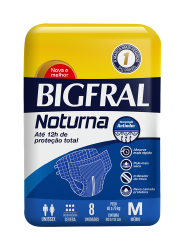 FRALDA ADULTO BIGFRAL NOTURNA M