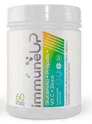 IMUNE UP 60 CAPS GLUTAMINA + PROPOLIS + VIT C + ZINCO