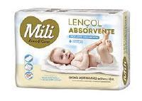 LENCOL ABSORVENTE INFANTIL MILI 8X5