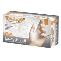 LUVA DE VINIL COM PO - USO MEDICO - M