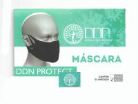 MASCARA DE PROTECAO FISICA 4 ALÇAS DDN PROTECT