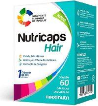 NUTRICAPS HAIR POLIVITAMINICO 60CAPS MAXINUTRI