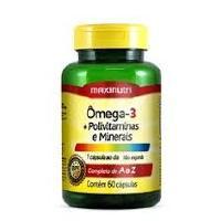 OMEGA 3 + POLIVITAMINAS E MINERAIS 60CAPS