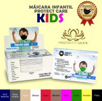 MASCARA PROTECT CARE INFANTIL Cinza
