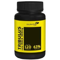 TRIBULUS COM MACA 63% SAP 500MG 120 CAPS SULPHYTOS SUPLEMENTOS