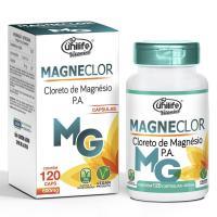 UNI CLORETO DE MAG. MAGNECLOR 600MG. - 120 CAPS