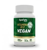 VITAMINA B12 VEGAN 60 CAPS 280MG APISNUTRI